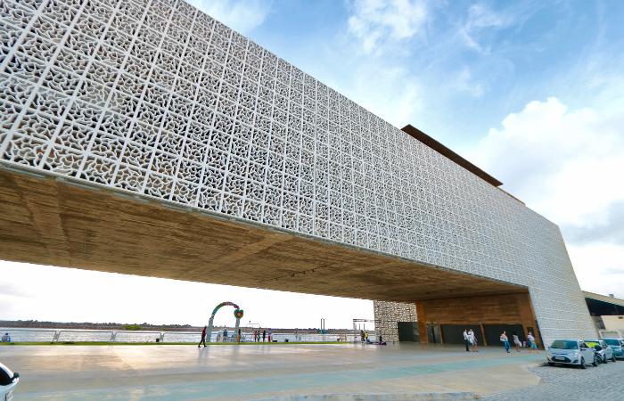 Evento acontece no auditório do Cais do Sertão seguindo protocolos. (Foto: Tarciso Augusto/Esp. DP/Arquivo)