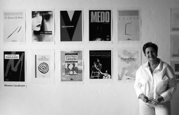 O livro reúne os trabalhos realizados por Moema, uma das mais importantes capistas de livro do Brasil (Foto: Divulgação)