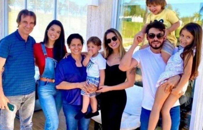 Foto postada nas redes sociais de Alexandre Suita, ex-cunhado de Gusttavo Lima. (Foto: Instagram/Divulgação)