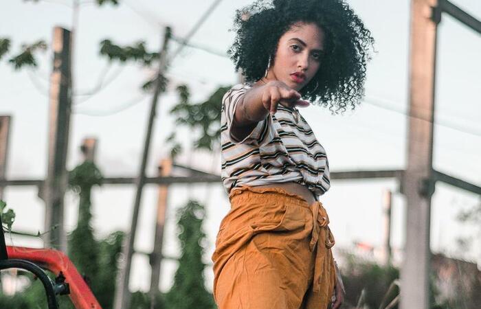 A rapper Nagô apresenta o projeto musical O medo é ilusório (Foto: Divulgação)
