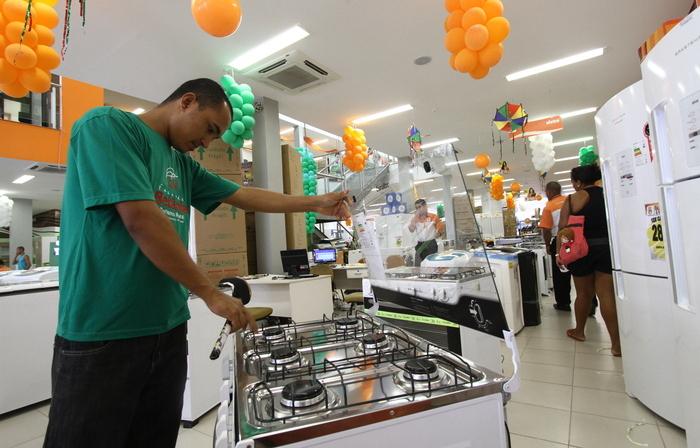 Uma das atividades mais positivas nos últimos meses é a de eletrodomésticos. (Foto: Alcione Ferreira/DP )