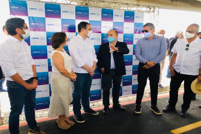 Inauguração do distrito industrial de Limoeiro aconteceu nesta sexta. (Foto: Anamaria Nascimento/DP)