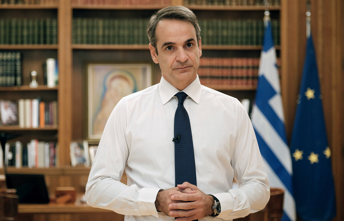 (Foto: DIMITRIS PAPAMITSOS / GREEK PRIME MINISTER'S PRESS OFFICE / AFP)