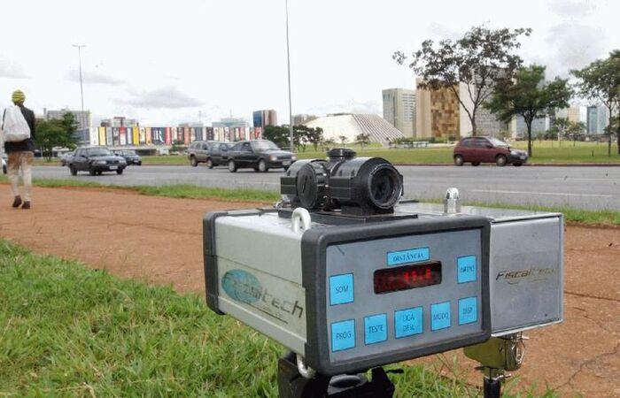 Entrou em vigor resolução do Conatran com novas regras para os radares (Foto: Agência Brasil/Arquivo)