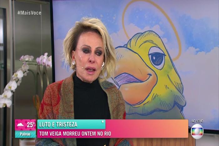 """Foto: TV Globo/Reprodução (Programa Mais Você foi em homenagem ao """"Louro José"""". )"""