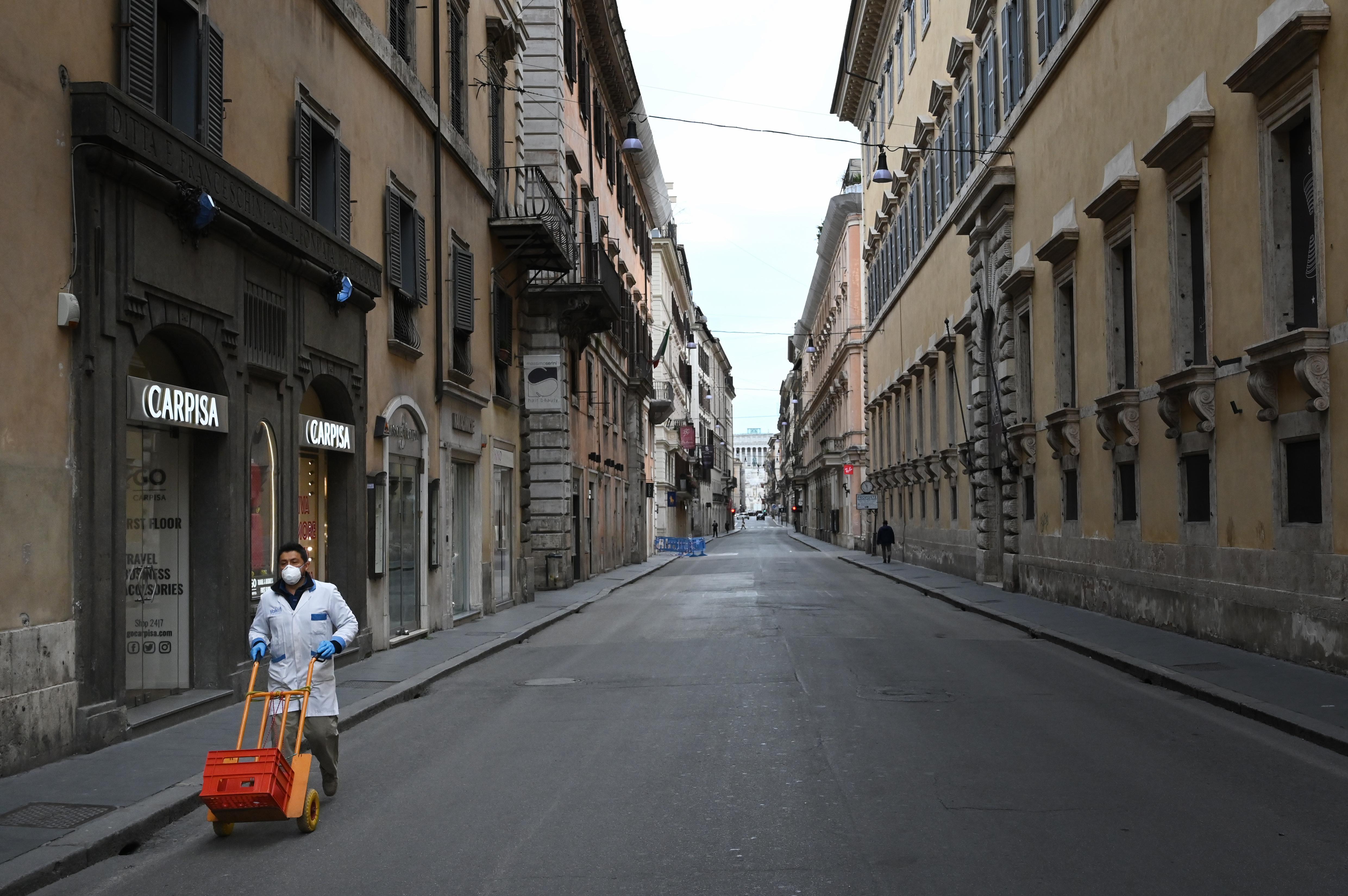 (Foto:  Alberto Pizzoli/AFP)