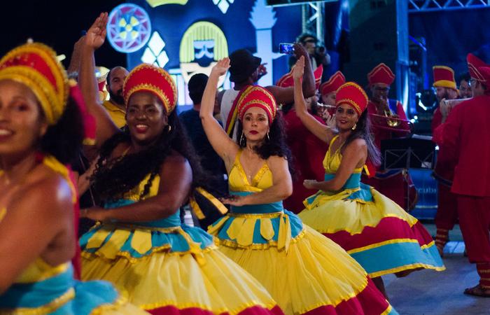 Maracatu Nação Pernambuco no carnaval de 2020 (Foto: Jan Ribeiro/ Secult PE - Fundarpe)