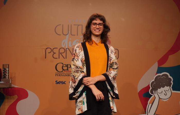 Iara Adeodato, que assina O Livro Sem Fim (Foto: Cepe/Divulgação)
