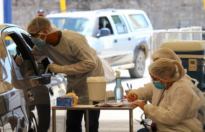 O Geraldão estará aberto até às 17h para realização de testes.  (Foto: Sandy James / Esp. DP FOTO)