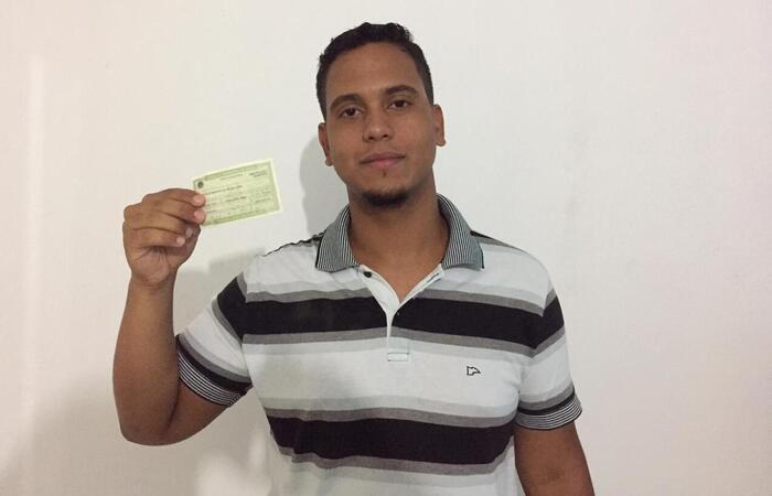 O estudante Lucas José da Silva, de 19 anos, votará pela primeira vez neste ano.  (Foto: Cortesia)