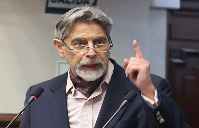 (Foto: Peruvian Congress / AFP)