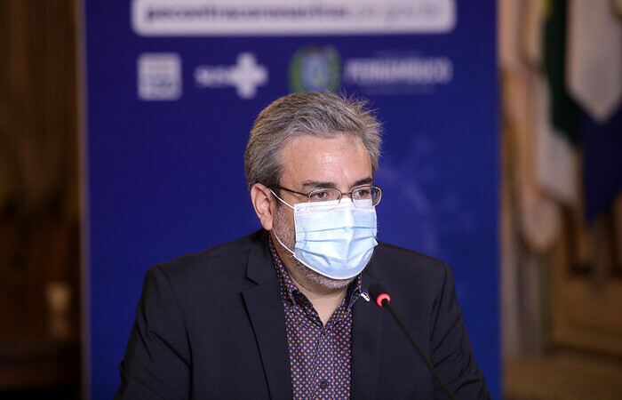 Gilberto Freyre Neto, secretário de cultura de Pernambuco (Foto: Hélia Scheppa/Governo de Pernambuco)
