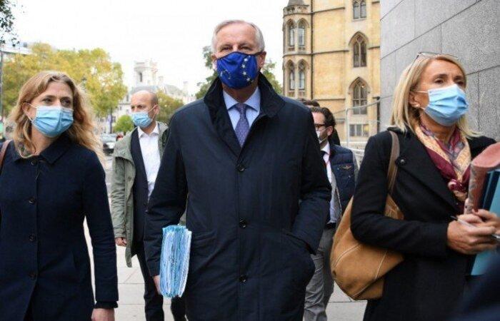 O negociador chefe do Brexit da UE, Michel Barnier. (Foto: Daniel Leal-Olivas/AFP)
