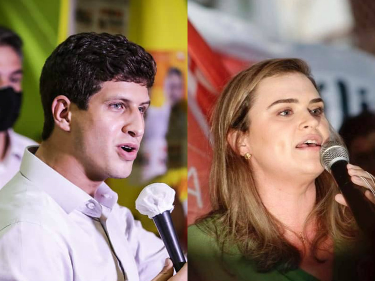 João Campos (PSB) alcançou 56,27% dos votos e venceu em todas as zonas eleitorais da capital pernambucana, enquanto Marília Arraes (PT) teve 43,73%.  (Foto: Reprodução)