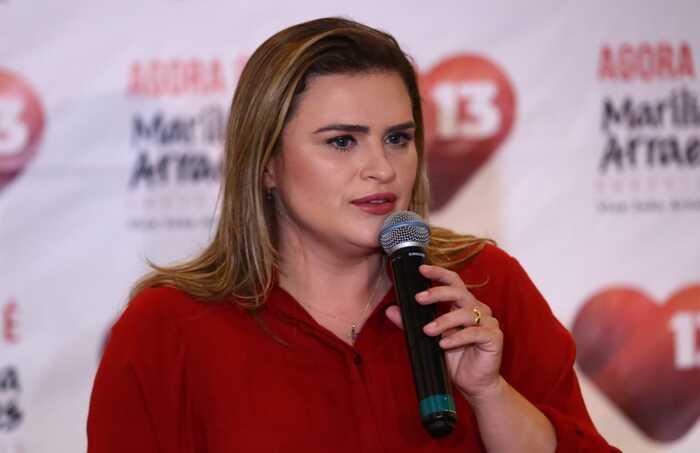 Marília afirmou que seguirá fazendo oposição.  (Foto: Bruna Costa/Esp.DP)