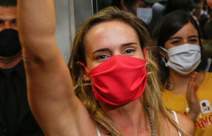 Isabella de Roldão (PDT), vice-prefeita eleita do Recife (Foto: Leandro de Santana/DP)