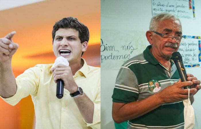 João Campos (PSB) e Yves Ribeiro (MDB) foram os últimos prefeitos a serem eleitos em Pernambuco.  (Foto: Reprodução)