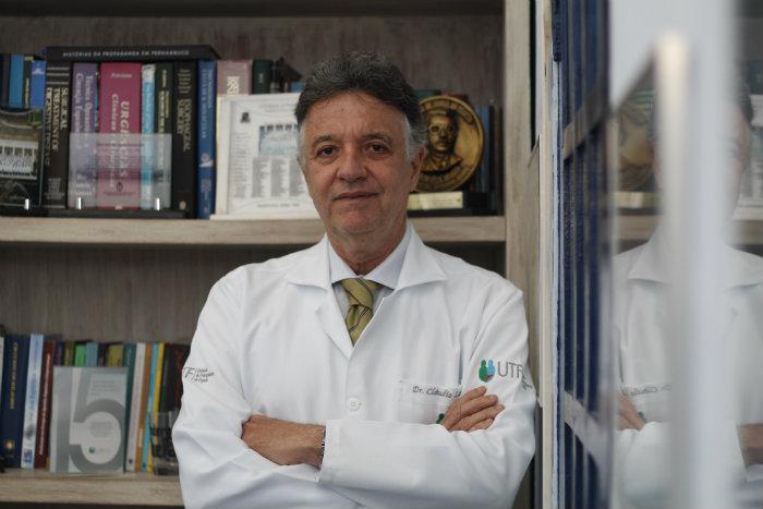Para o diretor do curso, Cláudio Lacerda, a pandemia reafirmou o valor dos profissionais de saúde (Foto: Rodrigo Silva/Esp. DP )