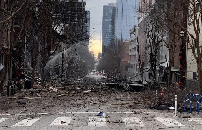 (HANDOUT / NASHVILLE FIRE DEPARTMENT / AFP)