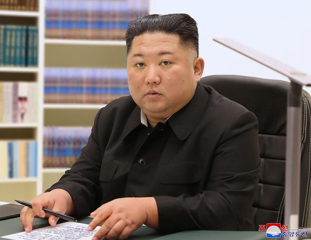 (Foto: STR / KCNA VIA KNS / AFP )