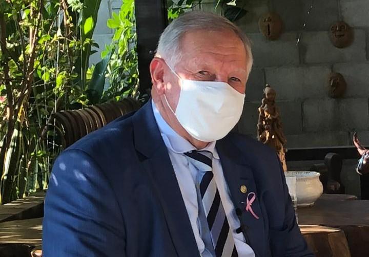 O doutor Mario Fernando Lins, presidente do Cremepe, vê a situação como preocupante (Cremepe/Divulgação)