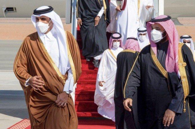 (Foto: BANDAR AL-JALOUD / Palácio Real Saudita / AFP)