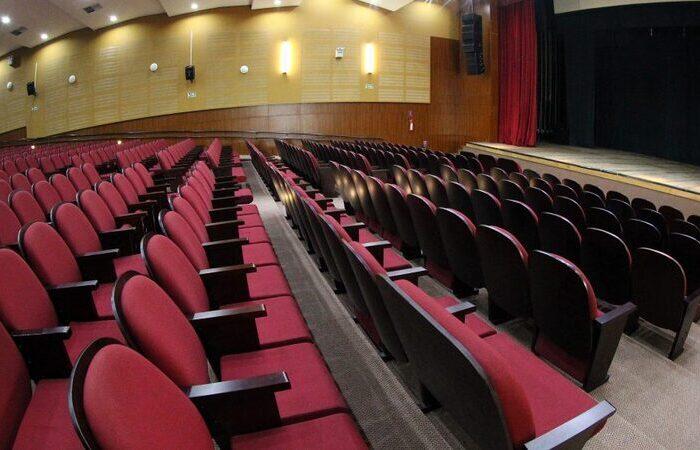 Salas de todas as unidades da instituição podem ser solicitadas (Foto: Cine-teatro Samuel Campelo/Prefeitura de Jaboatão dos Guararapes)
