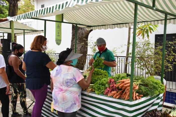 Pernambuco é o estado com maior rede de feiras orgânicas do Nordeste (Foto: Edilson Júnior/SDA/Divulgação)