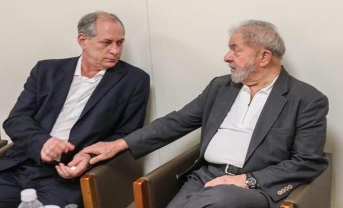 Lideranças políticas de oposição ao governo, Ciro Gomes e Lula retomaram o diálogo neste ano.  (Foto: Reprodução)