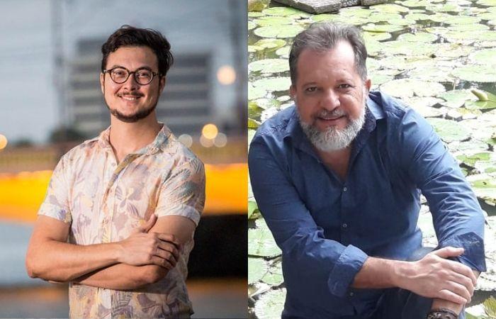 Escritores Cleyton Cabral e Paulo André Viana (Foto: Alex Ribeiro e Jhoni Santos/Divulgação)