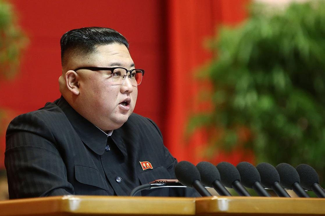 (Foto: KCNA VIA KNS / AFP )