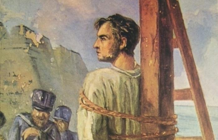 (Execução de Frei Caneca, por Murillo La Greca)