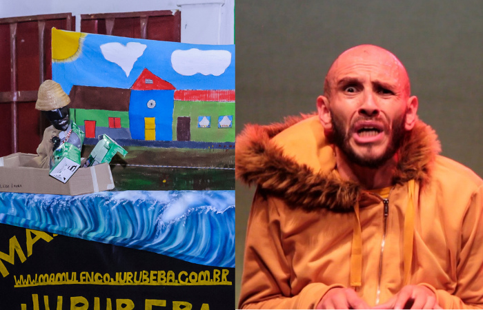 A peça de teatro infantojuvenil Salve o Marmulengo e o espetáculo de dança contemporânea Trastos, da Colômbia, integram a programação (Fotos: Divulgação)
