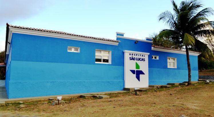 (Residente foi atendido no Hospital São Lucas, antes da transferência para  o Recife. Foto: Gustavo Bezerra/Divulgação)