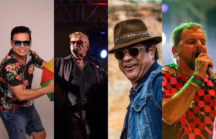 Almir Rouche, Conde Só Brega, Maciel Melo e Gustavo Travassos (Foto: Divulgação)