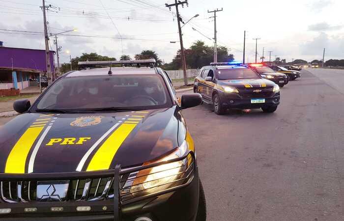 Segundo a PRF, não há pontos de bloqueios nas estradas federais no estado. (Foto: PRF/Divulgação)