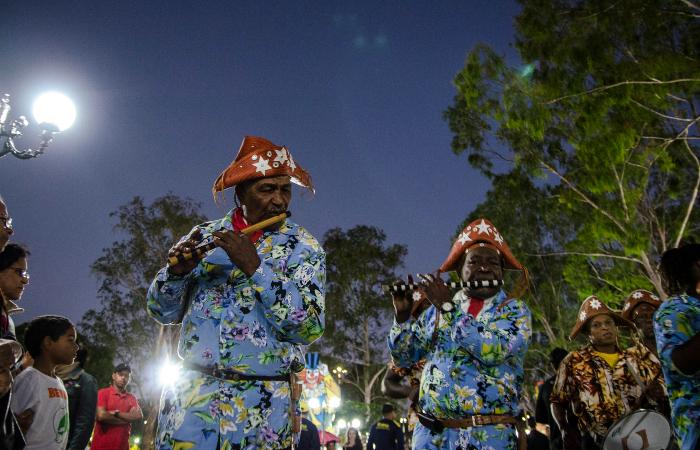 Foto: Renata Pires/Divulgação (Banda de Pífanos Raça Negra Boavistana do Ponto de Cultura Nação Caripó)