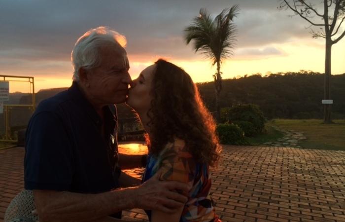 Cid curte o período de isolamento com a esposa Fátima (Foto: Arquivo pessoal )