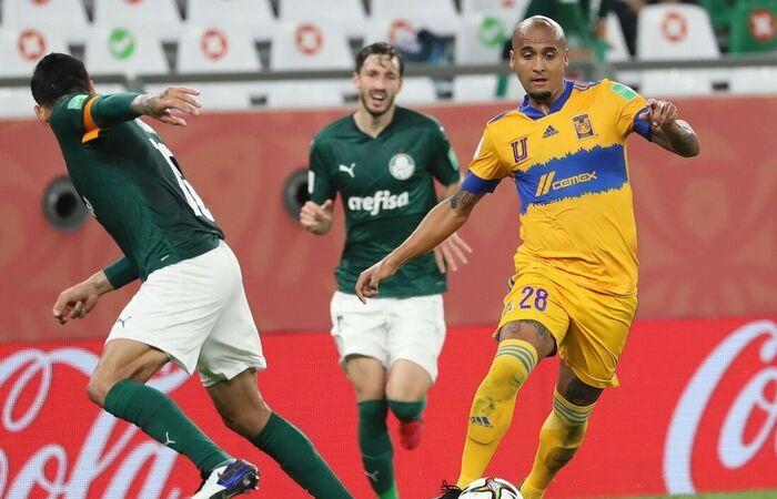 Com gol do francês Gignac, equipe mexicana venceu por 1 a 0 (Foto: Tigres/Divulgação)