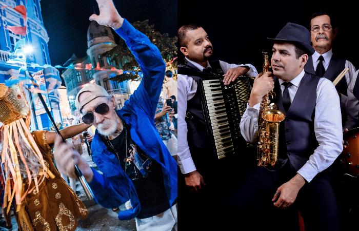 O evento contará com show do Spok Quinteto, bate-papo com maestros, oficinas e atividades carnavalescas (Fotos: Divulgação)