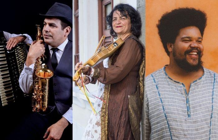 Spok Quinteto, Agláia Costa e Amaro Freitas Trio são algumas das atrações do evento (Foto: Divulgação)