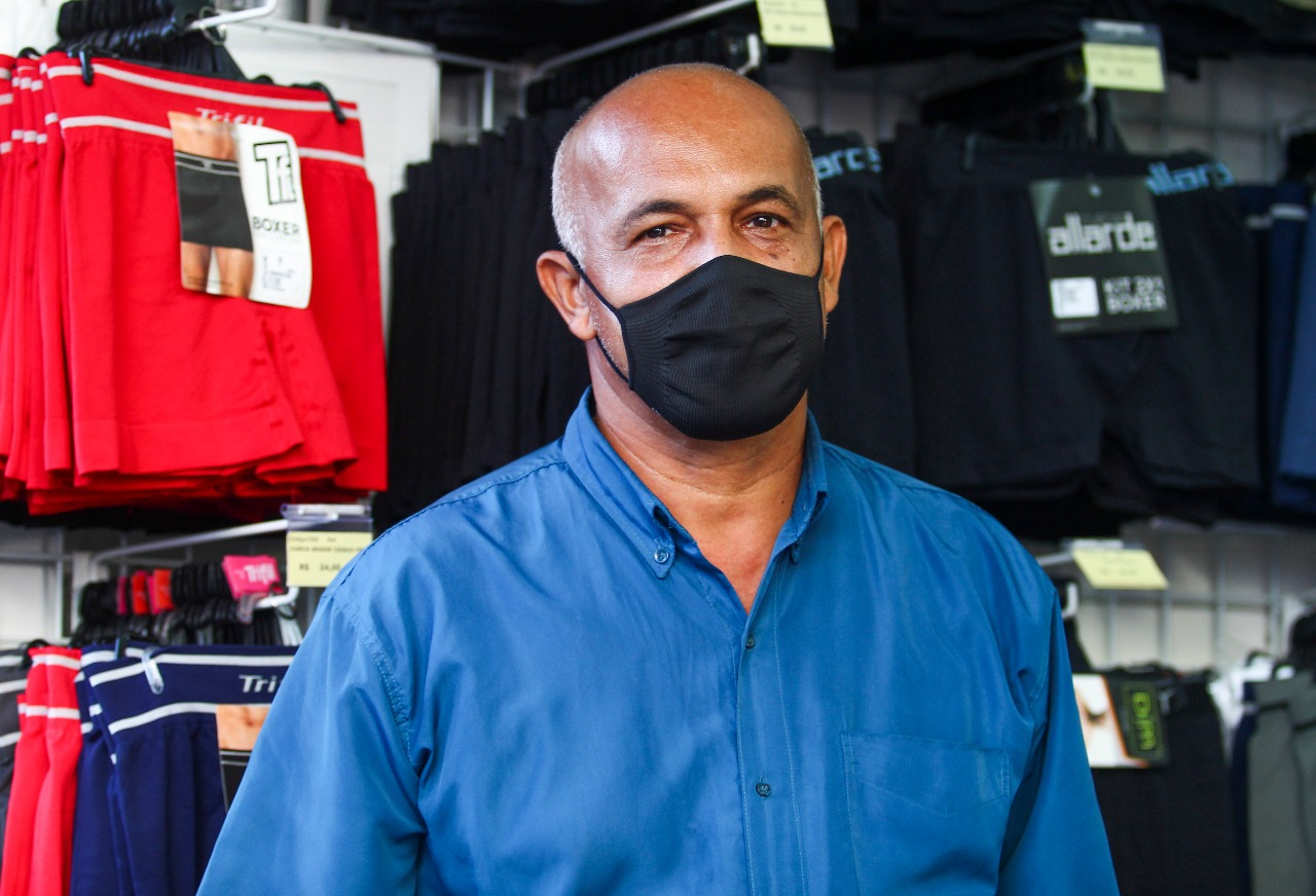 Erinaldo Alves acredita que recusa não seria motivo para demissão (Foto: Sandy James/Esp. DP)