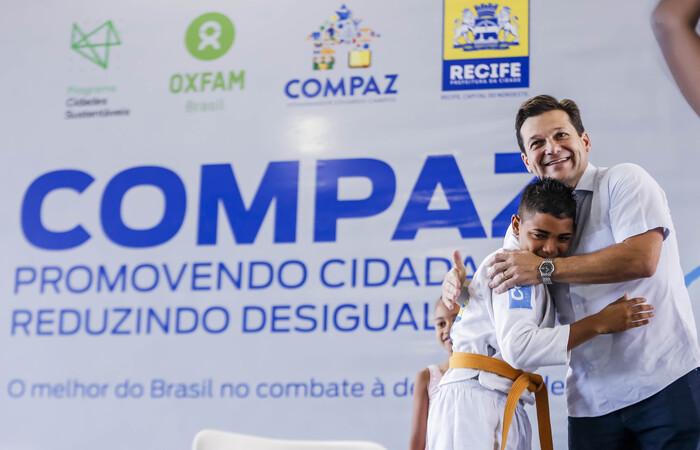 (Ex-prefeito implantou quatro unidades do Compaz ao longo de sua administração. Foto: Andréa Rego Barros  )