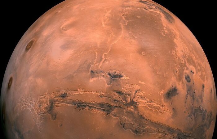 (Foto: EFE/EPA/USGS Astrogeology Center/Direitos Reservados)