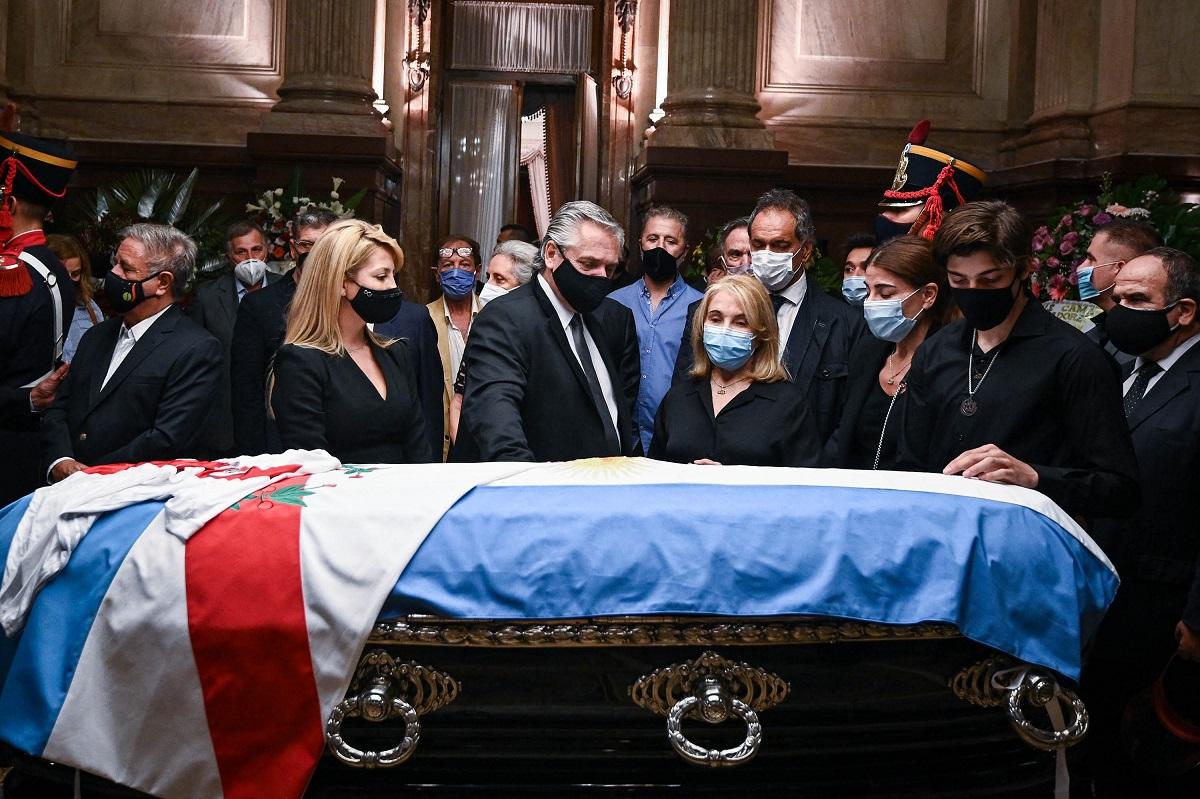 (Foto: Charly DIAZ AZCUE / ARGENTINA'S SENATE / AFP)