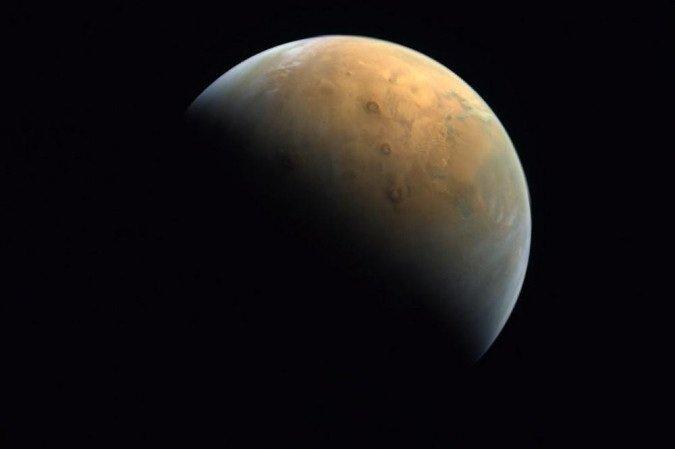 (Foto: United Arab Emirates Space Agency / AFP)