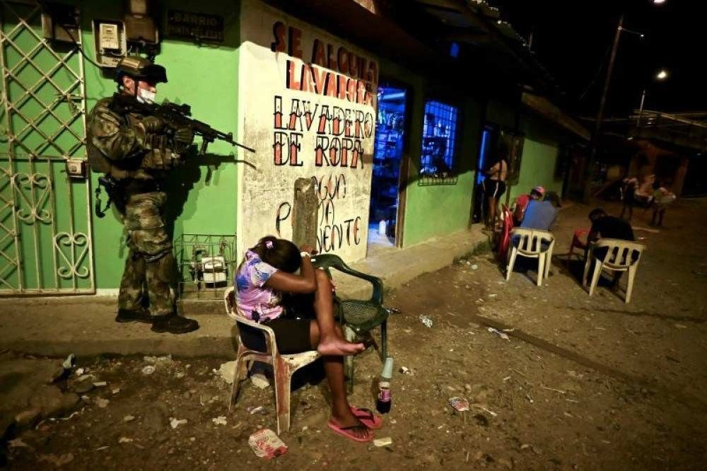 (Foto: AFP / Luis ROBAYO)