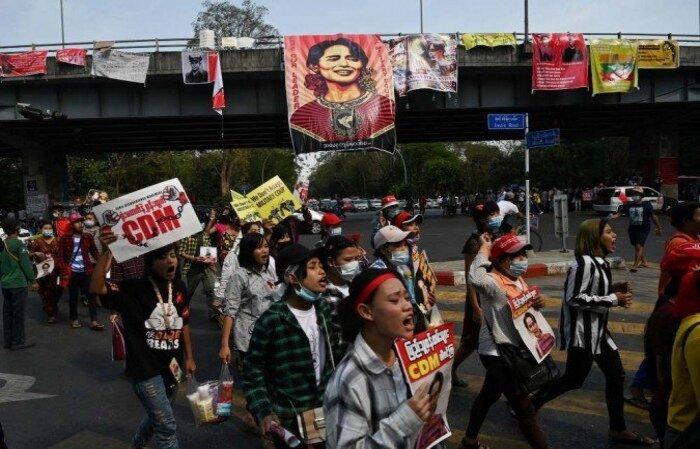 (Foto: Ye Aung Thu/AFP)