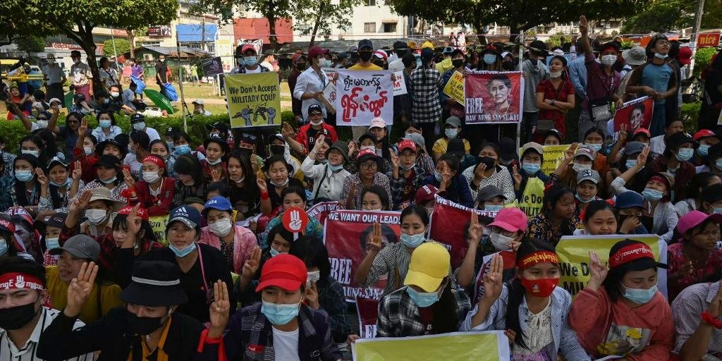 (Foto: Ye Aung Thu / AFP )
