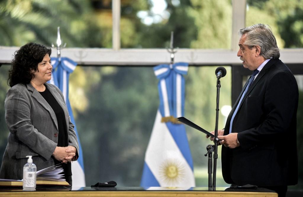(Foto: Maria Eugenia CERUTTI / Argentinian Presidency / AFP)